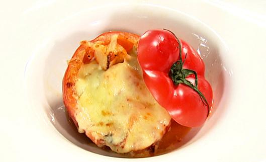 キムチイタリアンinトマトカップ
