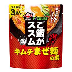 ご飯がススムキムチまぜ麺の素