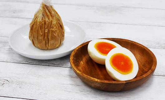 かんたん糠床 使い方「ゆで卵」
